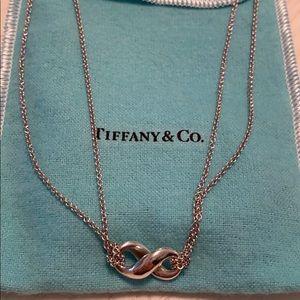 Tiffany & Co Infinity Pendant Necklace